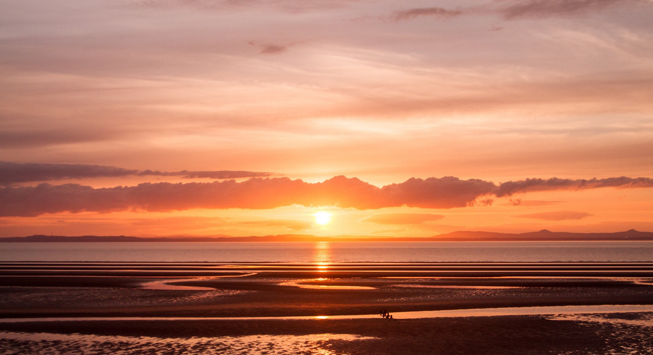 Sunset at Aberlady