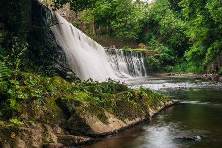 Dean Village waterfall